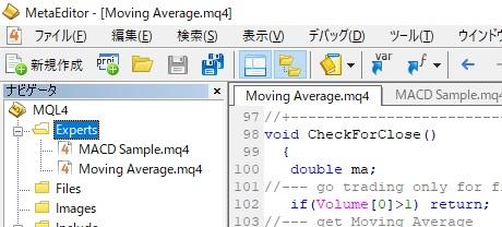 mq4ファイル置き場