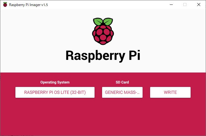 rasberry pi imager