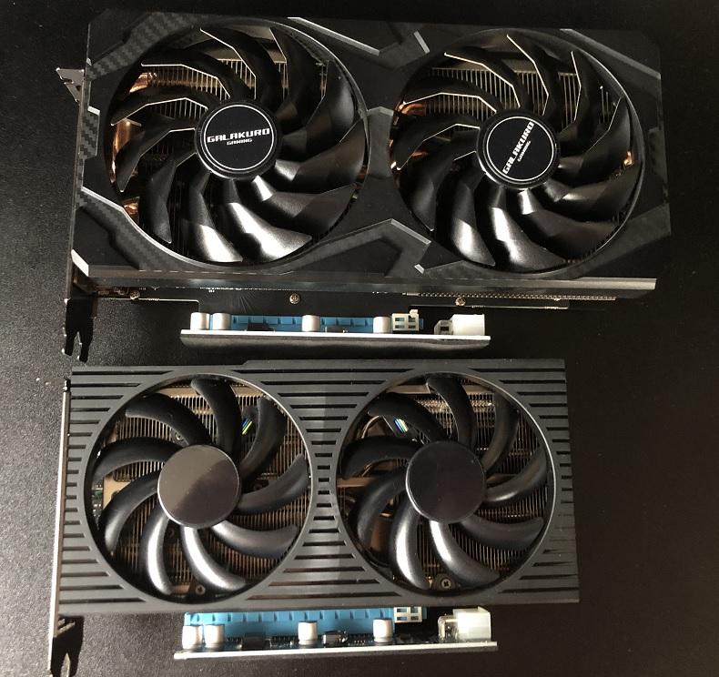 G5RTX3060tiサイズ比較