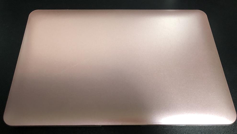 MacBookAirローズゴールド